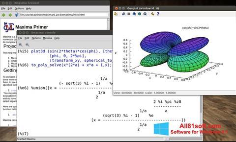 Zrzut ekranu Maxima na Windows 8.1