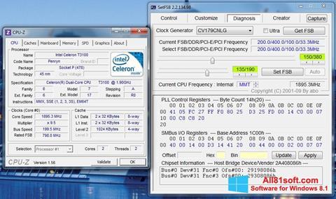 Zrzut ekranu SetFSB na Windows 8.1