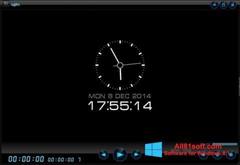 Zrzut ekranu Daum PotPlayer na Windows 8.1