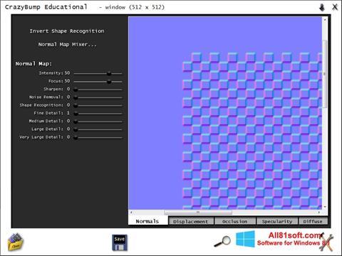 Zrzut ekranu CrazyBump na Windows 8.1