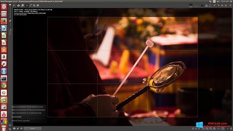 Zrzut ekranu RawTherapee na Windows 8.1