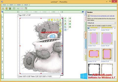 Zrzut ekranu PhotoMix Collage na Windows 8.1